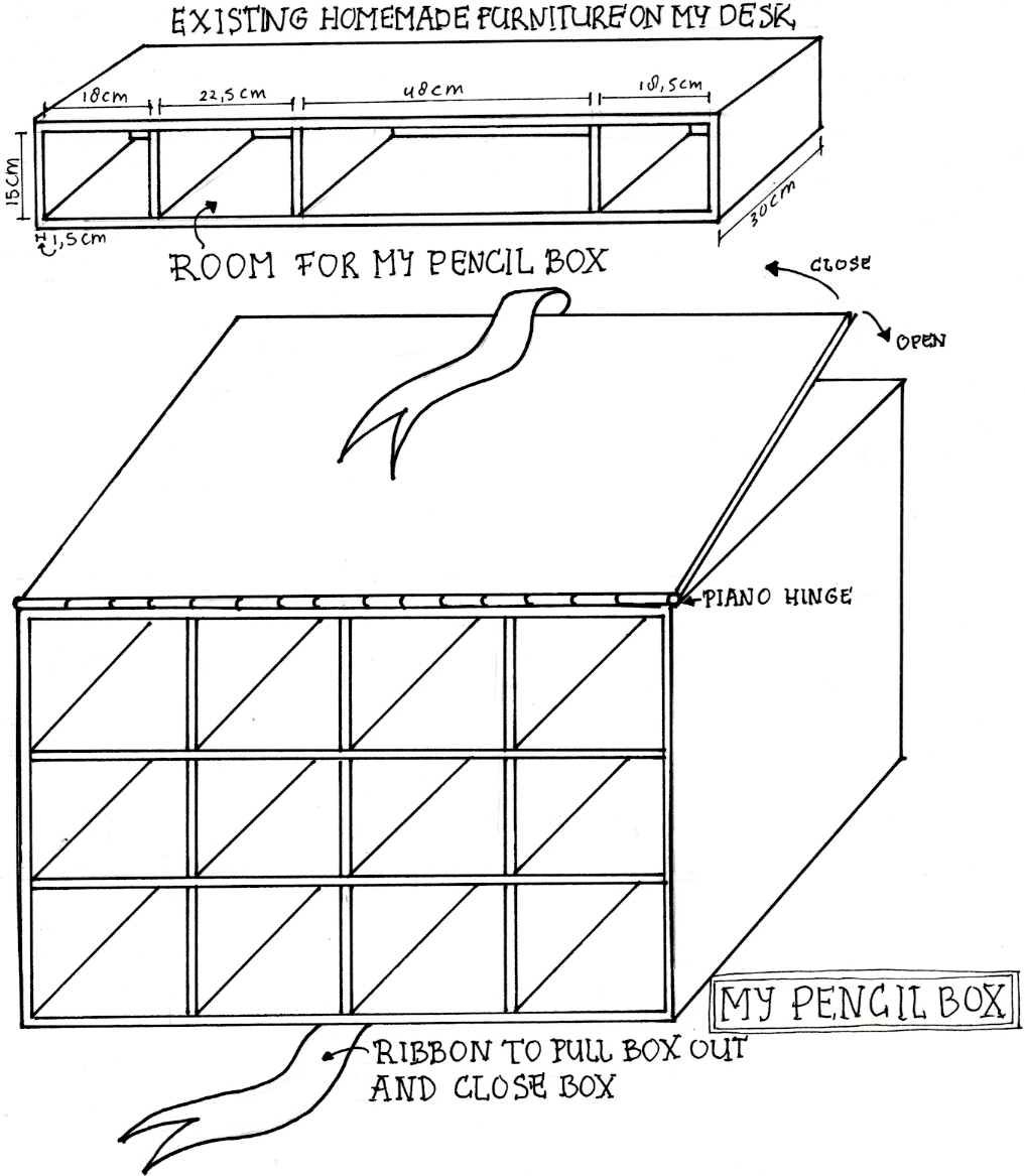 Design for pencil box